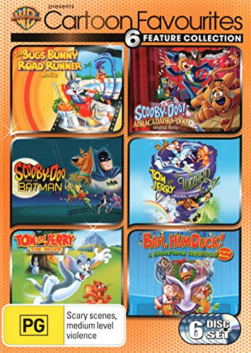 Warner Bros Cartoon Favourites [The Bugs Bunny Road Runner Movie/Scooby-Doo Meets Batman/ Abracadabra-Doo/ Tom and Jerry and the Wizard of Oz/The Movi [NON-USA Format, Region 4 Import - Australia]