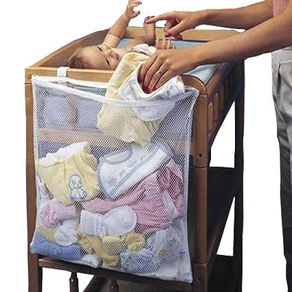 organizer da appendere per pannolini e giocattoli HANSHI HZC1384 Organizer per culla e porta pannolini per neonati