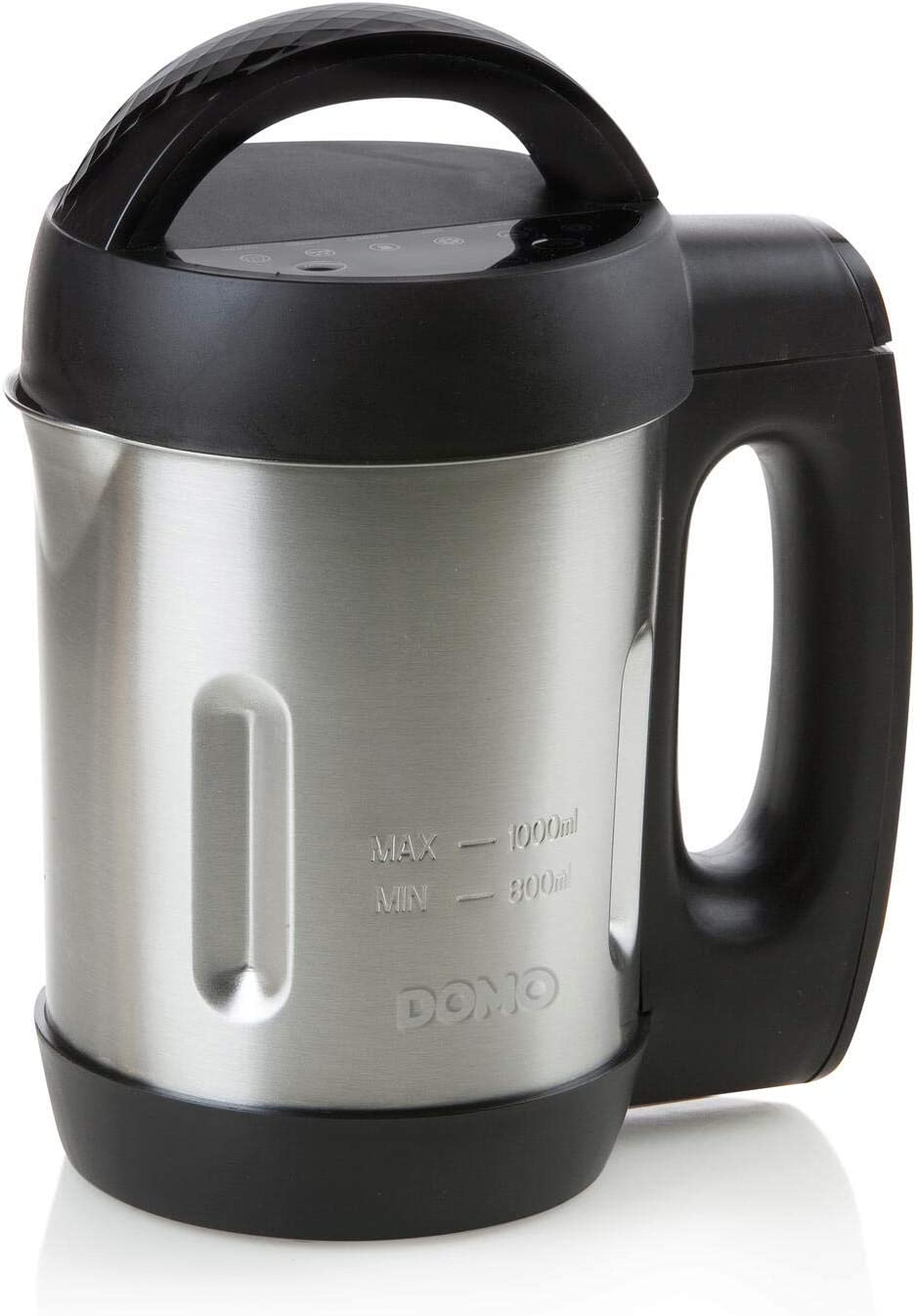 Máquina sopa de 1 l con 6 funciones. Negro: Amazon.es: Hogar