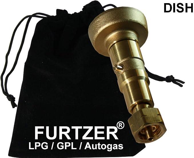 GPL LPG Autogas Fill DISH Adapter  10.8 cm long Filler adapter EUROPE M10 x M10