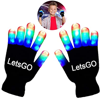cooco new fun autistic toys for 4 8 year old boys led glove for