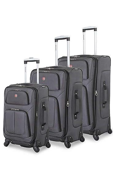 Amazon.com: SWISSGEAR 6283 Amazon - Juego de 3 maletas ...