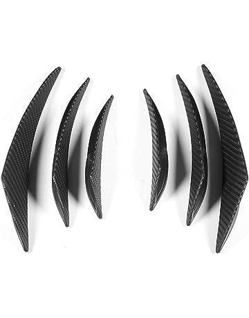 Protecteur de pare-chocs de voiture Noir Akozon Protecteur de pare-chocs pour les l/èvres 2Pcs 75mm Protecteur de pare-chocs de voiture