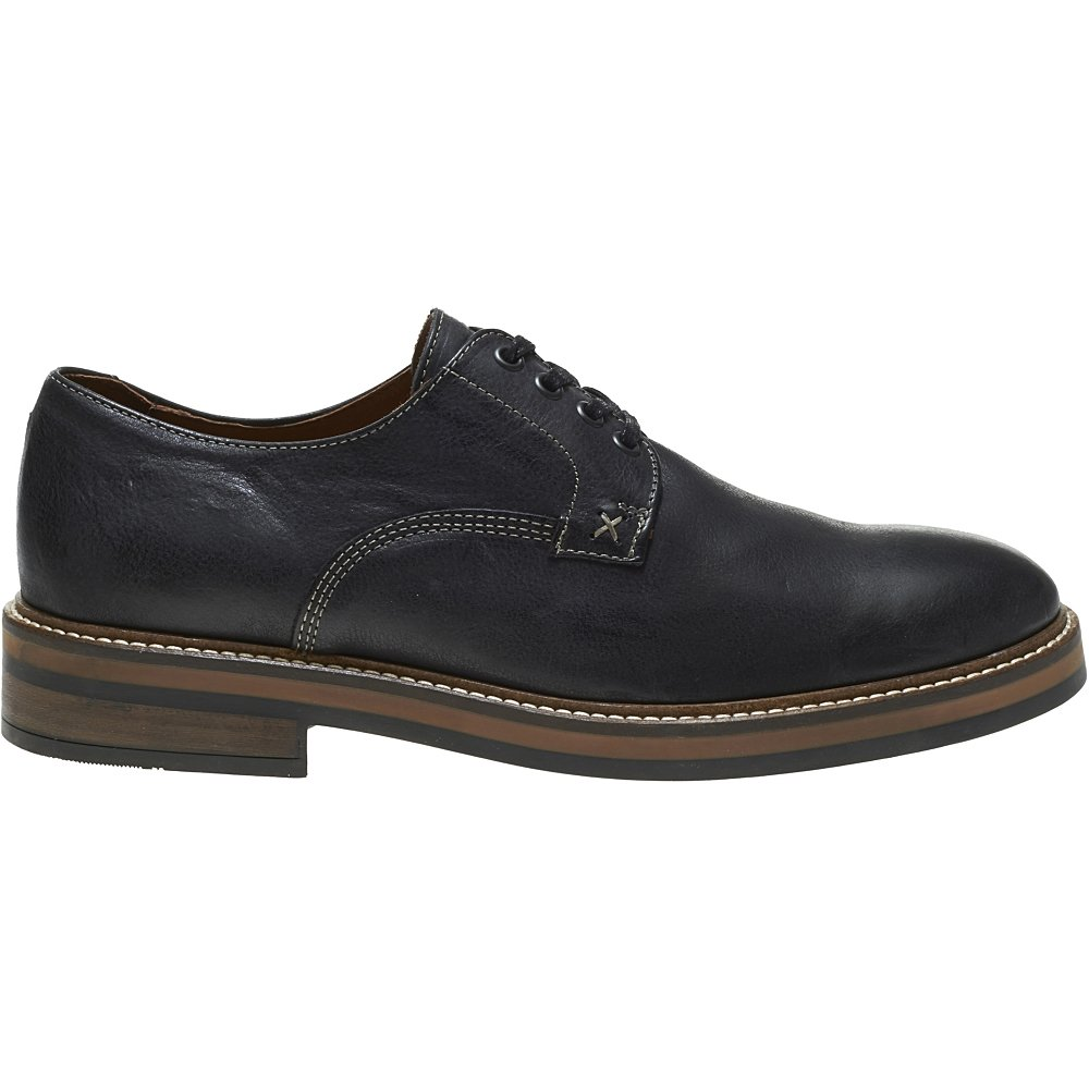 1883 by Wolverine Men's Javier Plain Toe Oxford, Black, 10 M US