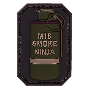 Parche de Mono Mil-Spec, Humo Ninja Od: Amazon.es: Deportes ...