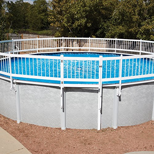 Swimming Pool Fence Kit (Protect-A-Pool Fence Base Kit A - 8 Section Base Kit)
