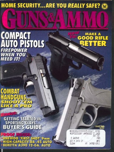 GUNS & AMMO Daewoo First Shot 9mm Beretta A390 Home Security Smith Wesson 6 1992 by The Jumping Frog