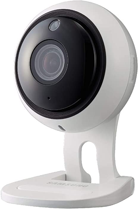 Samsung Wisnet SNH-V6431BN 1080p SmartCam WiFi Camera 2MP (1920TVL) Indoor Security Wireless IP Camera White