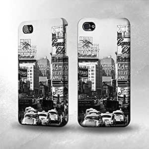 Apple iPhone 4 / 4S Case - The Best 3D Full Wrap iPhone Case - Old New York Vintage