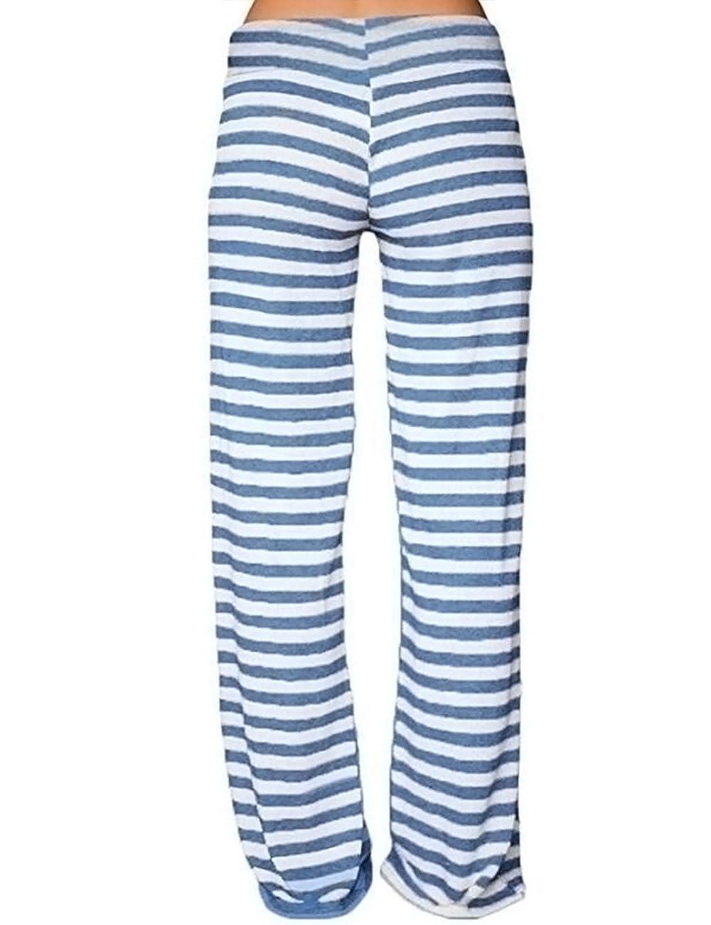 Imagine Womens Wide Leg High Waist Yoga Palazzo Pants Pineapple Printed Drawstring Trousers Workout Sports Pants Leggings