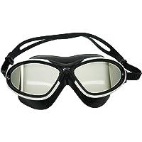 Palantic - Máscara de natación para Adulto con Espejo UV y Lentes antivaho