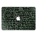 "vinyl decal macbook pro 13 - YOCOWOCO 13"" MacBook Pro Front Skins Decal Stickers Protective Cover Decal for Apple MacBook Pro 13 Inch 2016/2017 Model A1706/A1708 Equation"