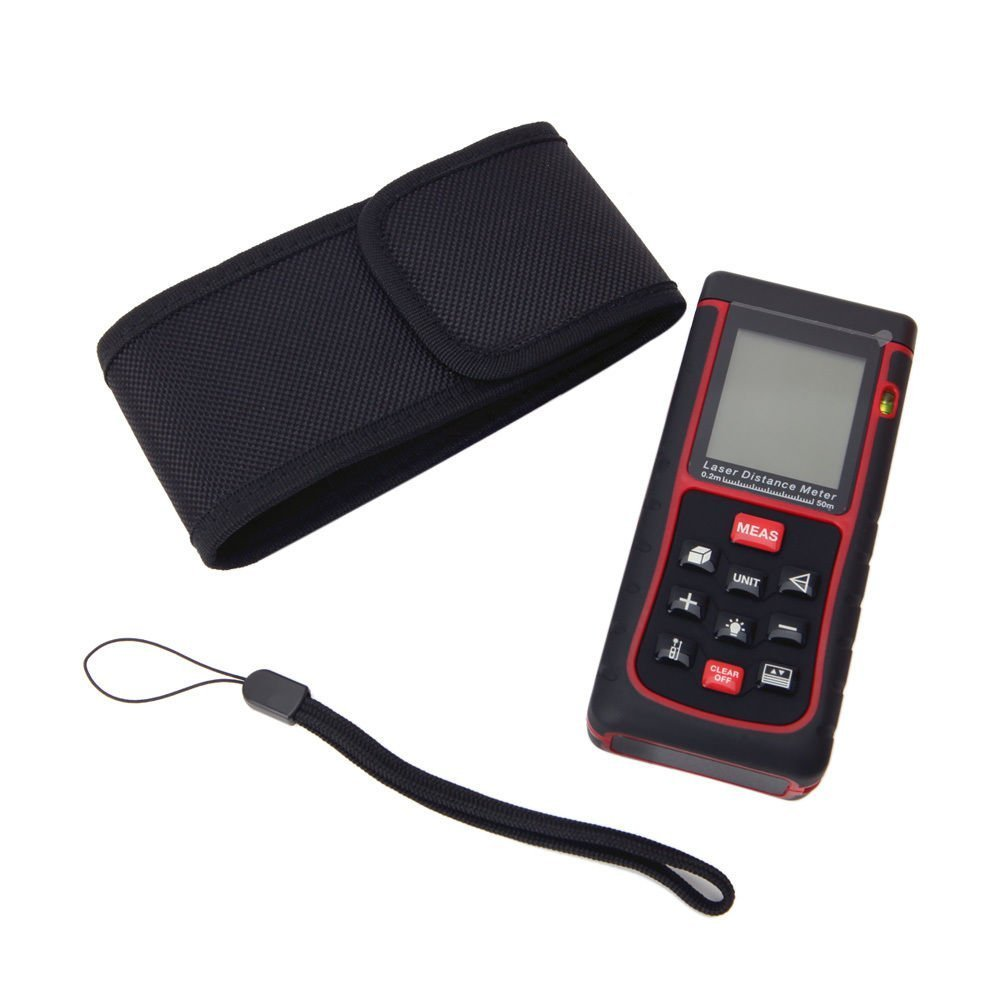 BUYEONLINE 50M/164Ft Digital Laser Distance Meter Range Finder Measure Distance Area Volume by BUYEONLINE (Image #3)