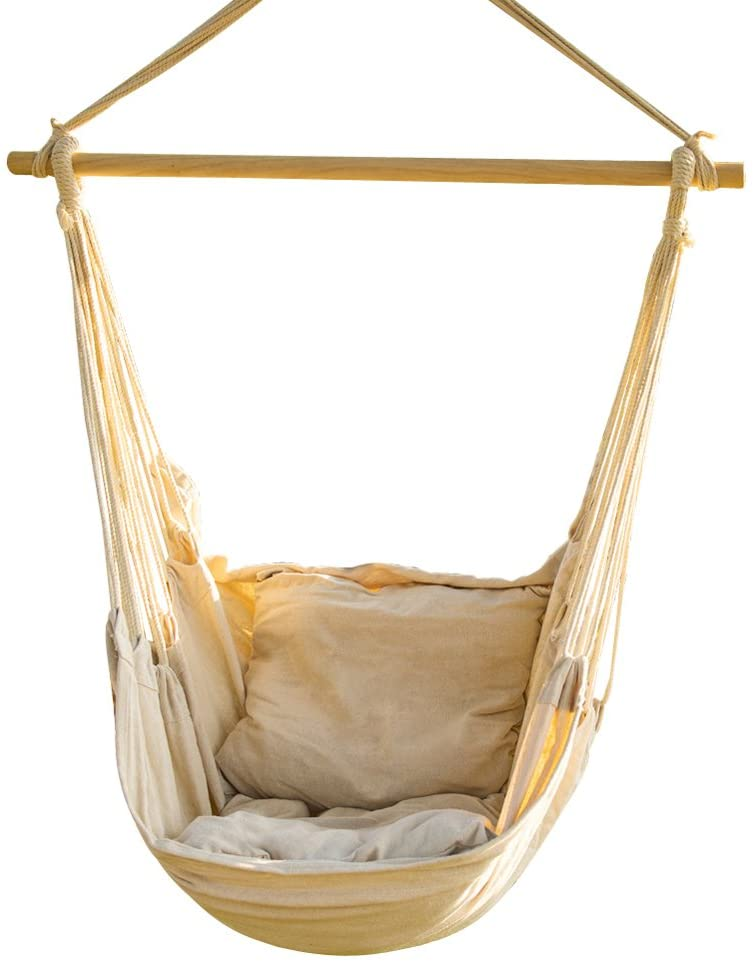 Online limited product CCTRO Import Hanging Rope Hammock Chair Large Swing Seat Brazilian Ham