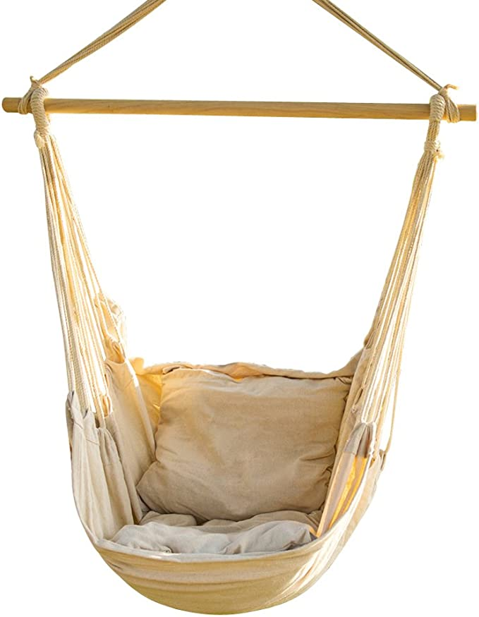 CCTRO Hanging Rope Hammock Chair – Best Budget Hammock Chair
