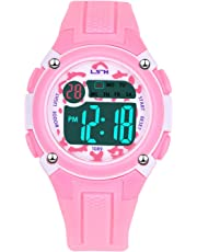 Kids Digital Watch, Functional Waterproof Boys Watch Girls Watch with Time, Date, Week, Backlight, Alarm, Stopwatch Digital Watch for Children