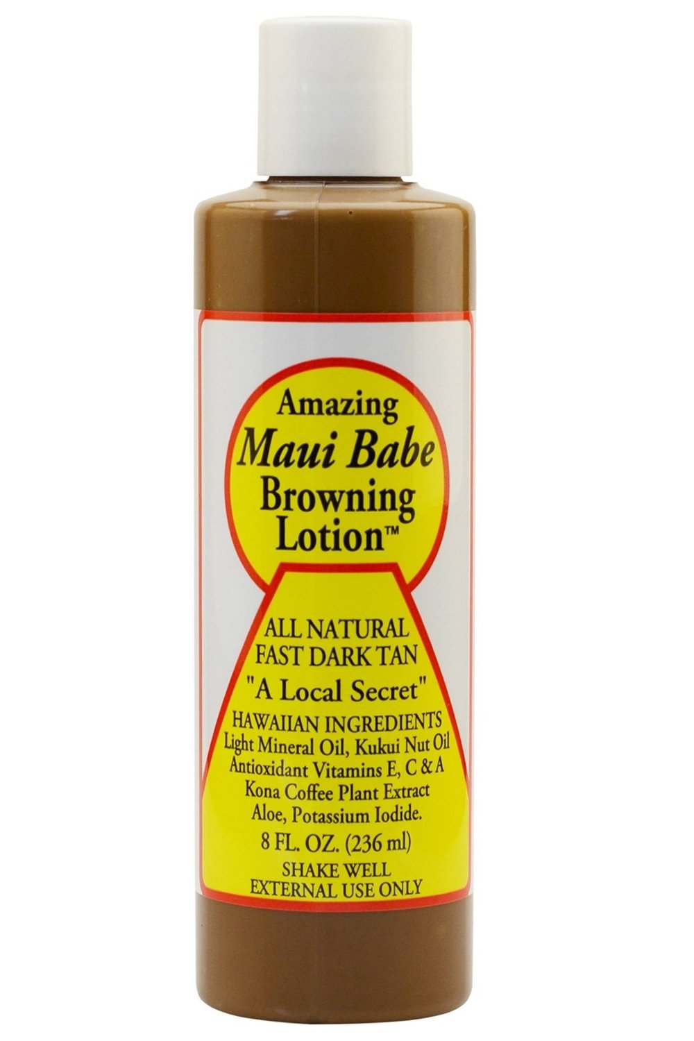 Maui Babe Maui Babe Tanning and Browning Lotion 8 Ounces (Pack of 2)