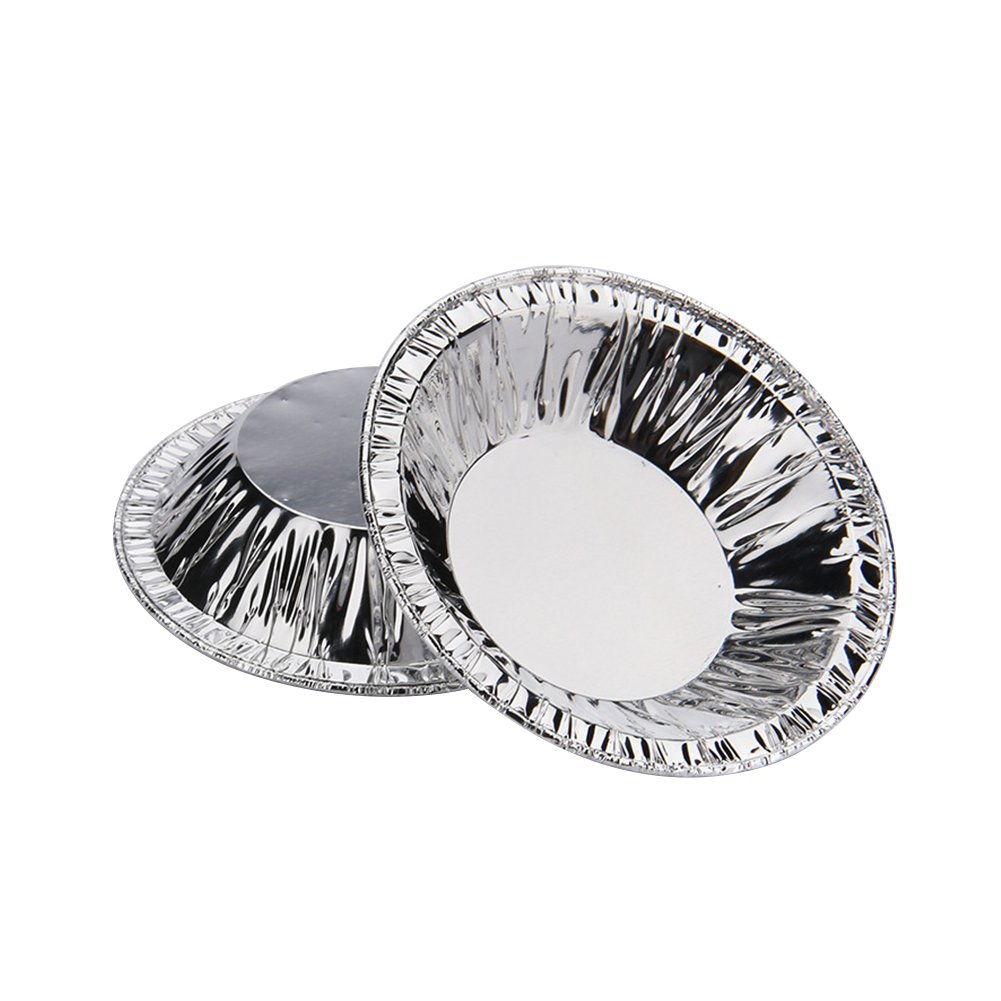 Disposable 3'' Aluminum Foil Egg Tart Tins Mold Pie Pans Baking Tools, Pack of 250 by Tong Yue (Image #3)