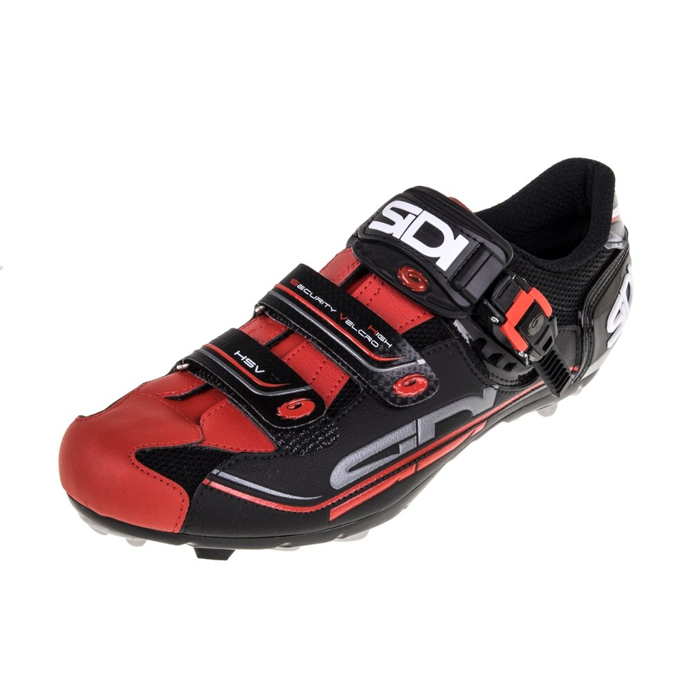 Sidi Scarpe Eagle 7 MTB Shoe Black/Red (Eur 44/US 10)