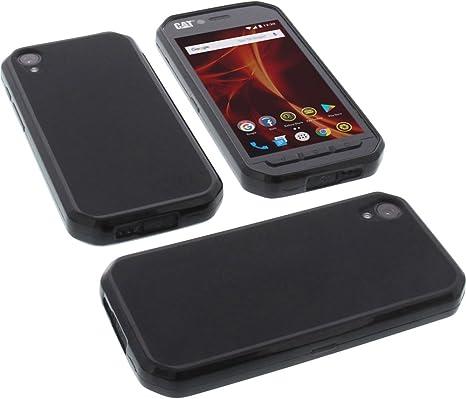 foto-kontor Funda para Cat S41 Protectora de Goma TPU para móvil ...