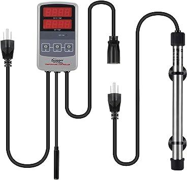 Amazon.com: Hygger - Calentador de acuario sumergible de ...