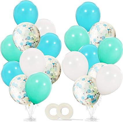 Amazon.com: Frozen - Globos de fiesta de cumpleaños (40 ...
