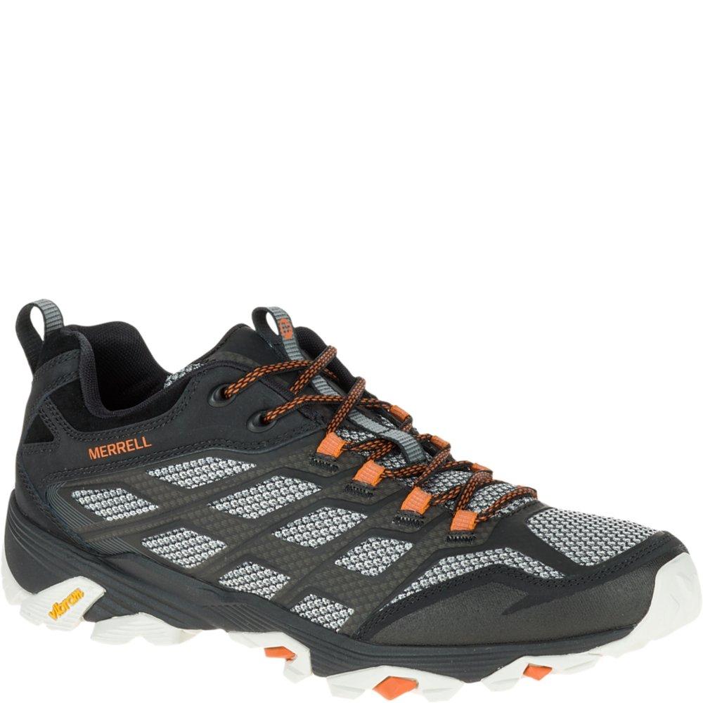 Noir Merrell Moab FST 1, Chaussures de Randonnée Basses Homme 42 EU W