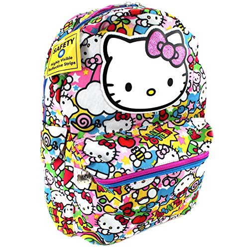 Hello Kitty Allover Print School Backpack