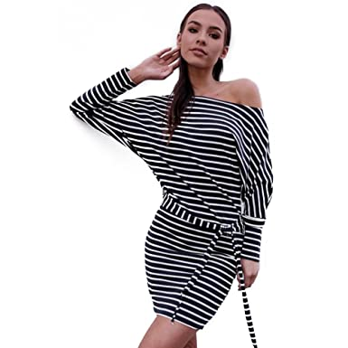 2581085757c4 Long Sleeve Striped Dresses for Women
