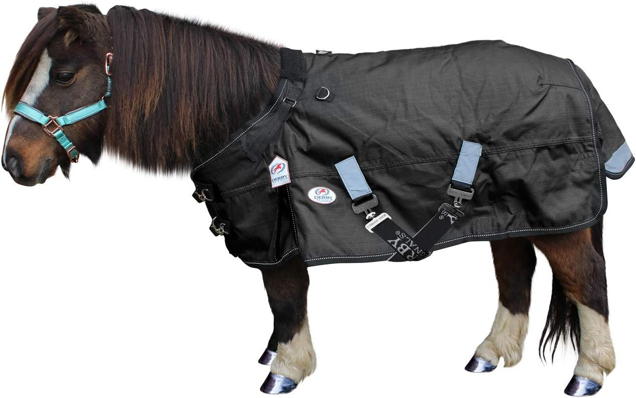 """Miniature Horse Waterproof  Turnout Blanket w//tail cover 50/"""" Miniature Donkey"""