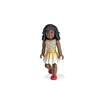 Mega Construx American Girl Figure Building Set, Gold: Toys & Games
