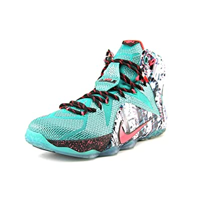 nike mens lebron 12 christmas basketball shoes green - Christmas Lebron 12