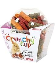 Zolux Crunchy Cup Friandise Luzerne/Carotte/Betterave pour Petit Mammifère 180 g