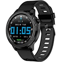 OPTA SB-136 Diotima Bluetooth Fitness ECG Watch| Blood Pressure Multi-Sport Mode| Heart Rate | Waterproof |1.2 inch Color Screen Fitness Tracker for All Android/iOS