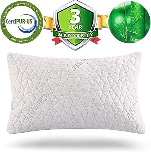 Miracle Bamboo Pillow As Seen on TV Original Shredded Memory Foam