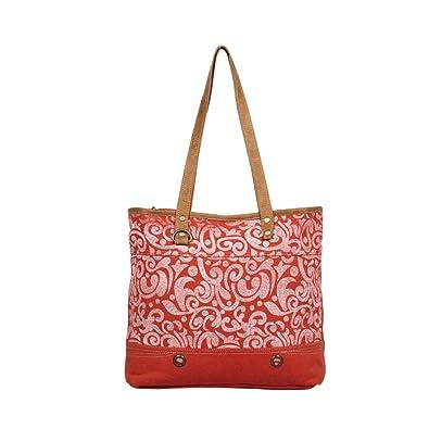 Amazon.com: Myra Bag S-1311 - Bolsa de lona reciclada: Shoes