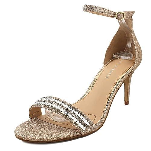 5340de21373 Kelly   Katie Kirstie Women US 9 Gold Sandals  Amazon.ca  Shoes ...