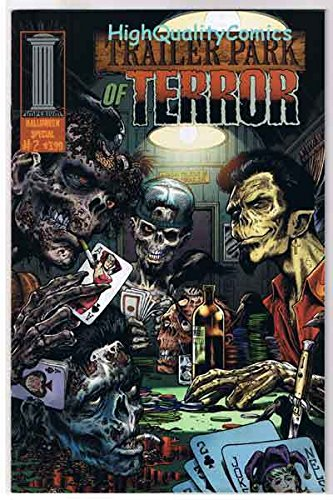 TRAILER PARK OF TERROR #2, VF+, Zombie, Halloween, Variant, Poker,more in -