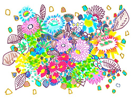 Oopsy Daisy Spring Has Sprung by Jo Chambers of Studio Legohead Canvas Wall Art, 14