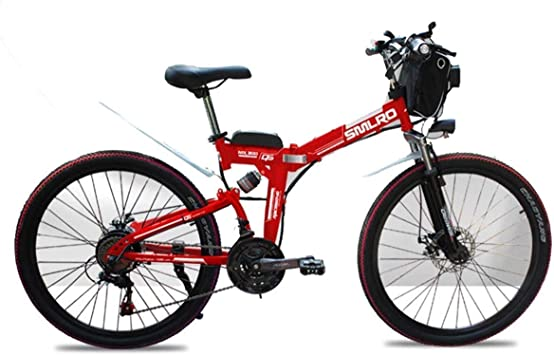 WJSW Bicicleta de montaña eléctrica Bicicletas para niños de 48 V ...
