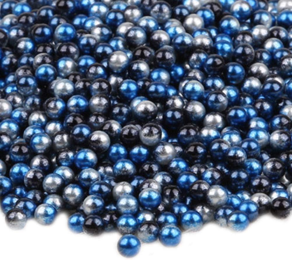 10mm 10mm 0.39-50pcs TREESTAR Tresar Runde Perlen ohne Loch aus Kunststoff Kunstperlen Basteln Handwerk Zubeh/ör zur Herstellung von Schmuck Kleidung Dekoration