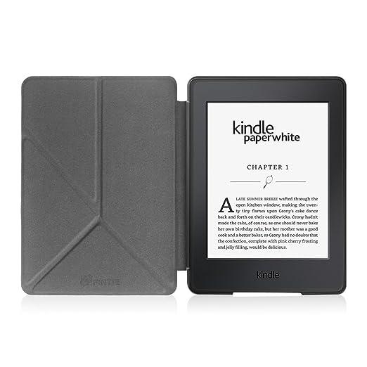 Fintie Origami Funda para Kindle Paperwhite - Carcasa de Cuero ...