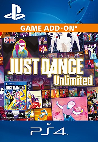 Just Dance Unlimited-12 months [PS4 PSN Code - UK account