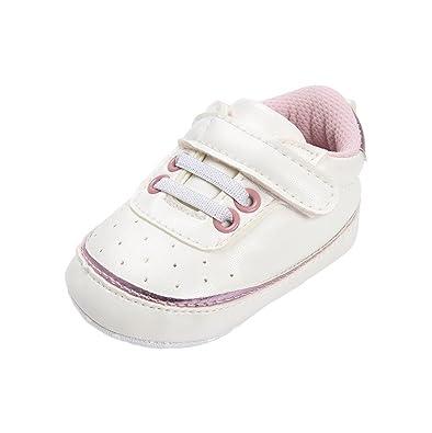 21f3a78b9c94c Chaussures de bébé Auxma Chaussures Bébé garçon fille Baskets en cuir PU  avant bébé pour 3