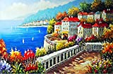 Coeus Wooden Puzzles-a Series of Scenery - City By Sea ,Educational Games for Kids / Puzzles for Adults,1500 Pieces Jigsaw Puzzle