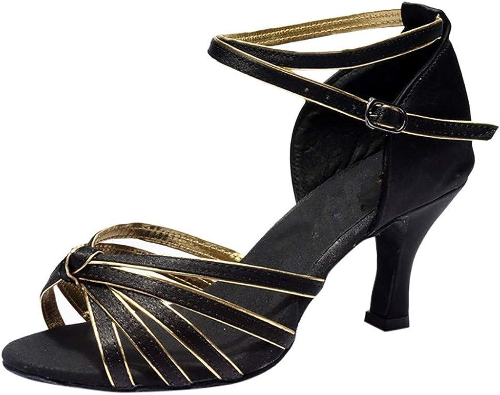 Chaussures a Talons Hauts de Danse Latine Sandales pour Femme