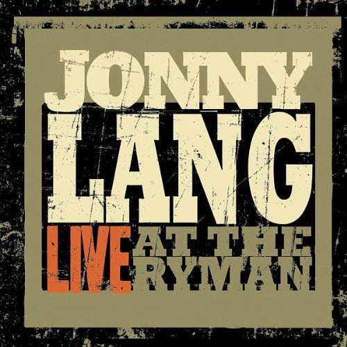 Live at the Ryman by Jonny Lang (2010-04-20)