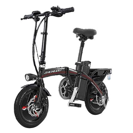 Eléctricas Bicicleta Batería De Litio Plegable Bicicleta Coche ...