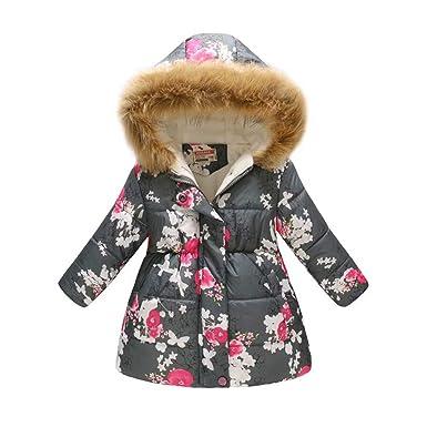 b64b041ebd44f Goodgoods ダウンコート キッズ 中綿コート 子ども服 裏起毛 女の子 中綿ジャケット 子供用 フード