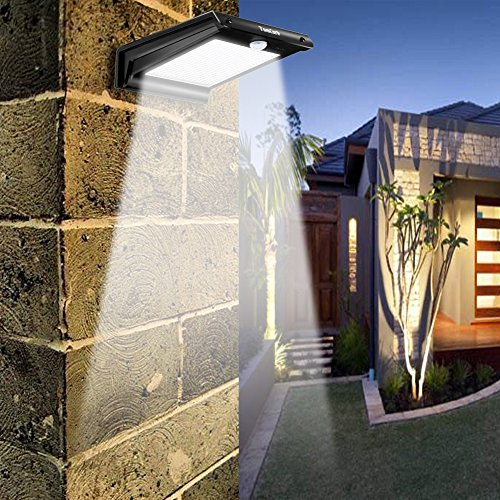 20-LED-Solar-Lights-Solar-Motion-Sensor-Outdoor-Light-Solar-Powered-Wireless-Waterproof-Exterior-Security-Wall-Light-for-PatioDeckYardGardenPathHomeDrivewayStairsNO-DIM-MODE